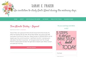 Sarah Frazer
