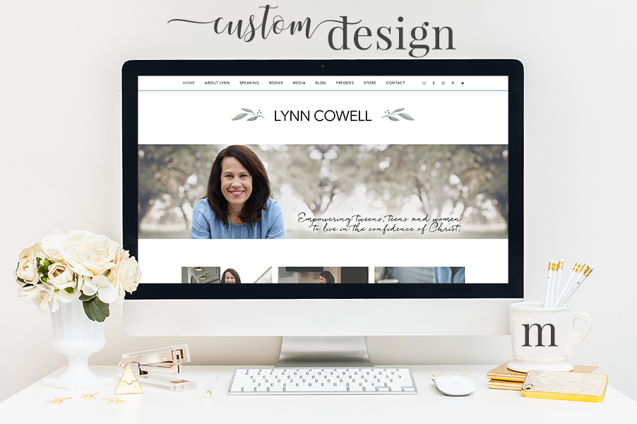 Mandy Roberson Media, LLC: Custom Website Design
