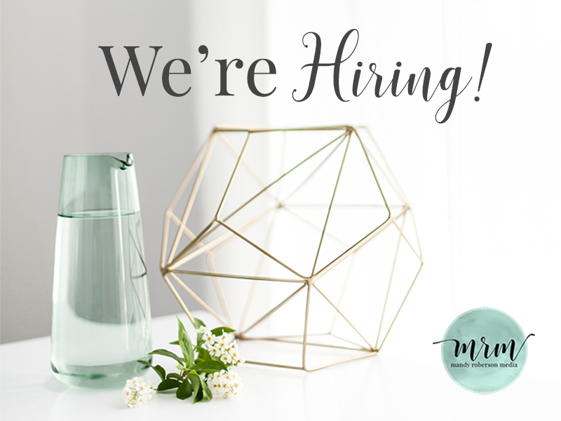 MRM - We're Hiring!