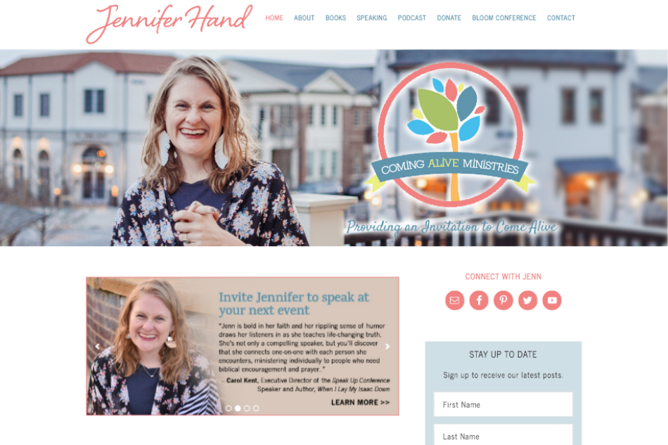 Jennifer Hand: Premium WordPress Design