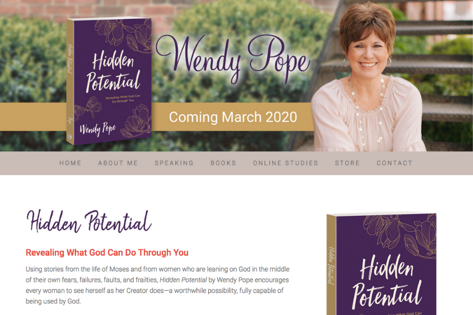 HiddenPotential | WendyPope: book release