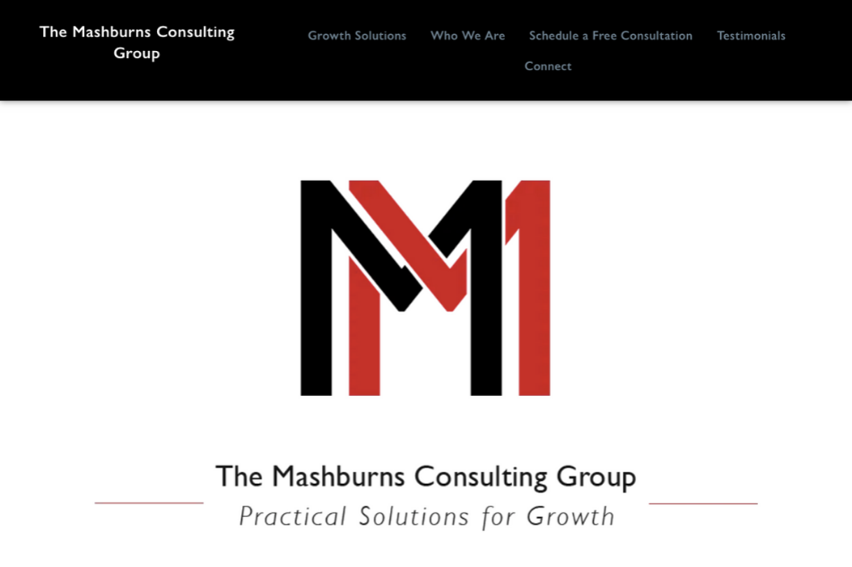 The Mashburns Consulting Group: Premium WordPress Design