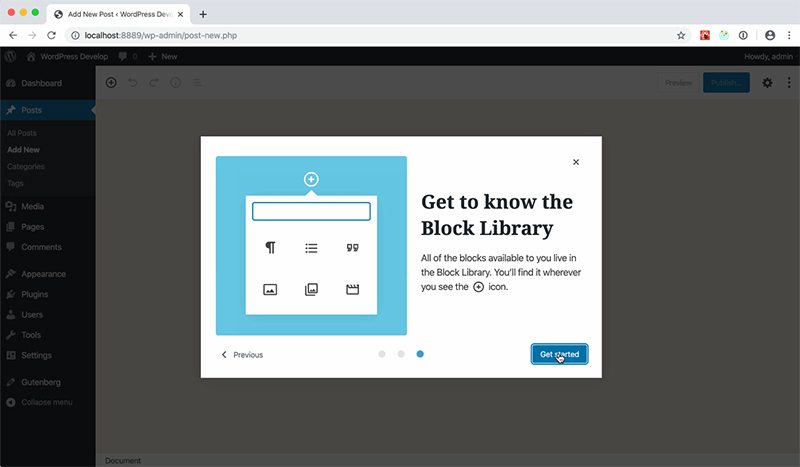 MRM: The Block Editor
