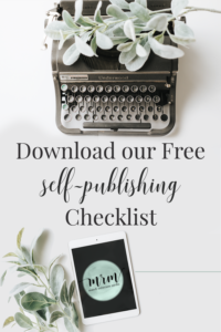 MRM: Download our Free Self-Publishing Checklist