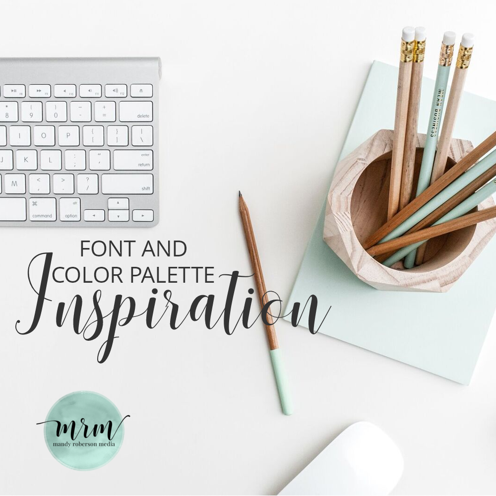 MRM: Font and Color Palette Inspiration For Your Website