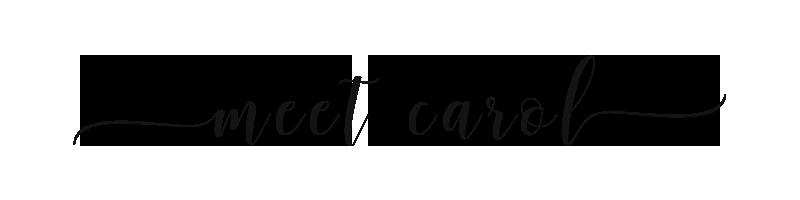 Meet Carol P - Graphic Designer
