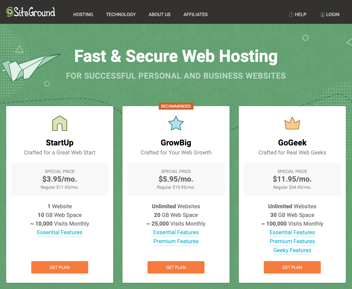 MRM: SiteGround Hosting Recommendation