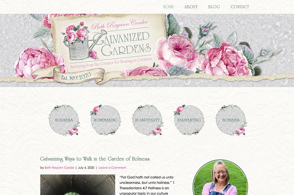 Beth Rayann Corder: Premium Site Design