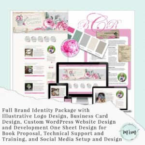 MRM Project Feature: Beth Rayann Corder Brand & Website Design