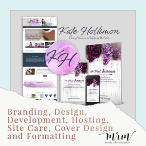 MRM Project Feature: Kate Hollimon Brand and Website Design