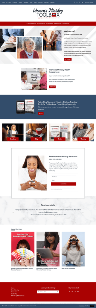 MRM Project Feature Womens Ministry Toolbox Brand and Website Design