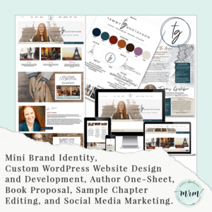 MRM Project Feature: Tammy Gustafson Brand and Website Design