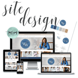 MRM Project Feature: Courtney Joseph Full Branding Package, Website Design, and Tech Support
