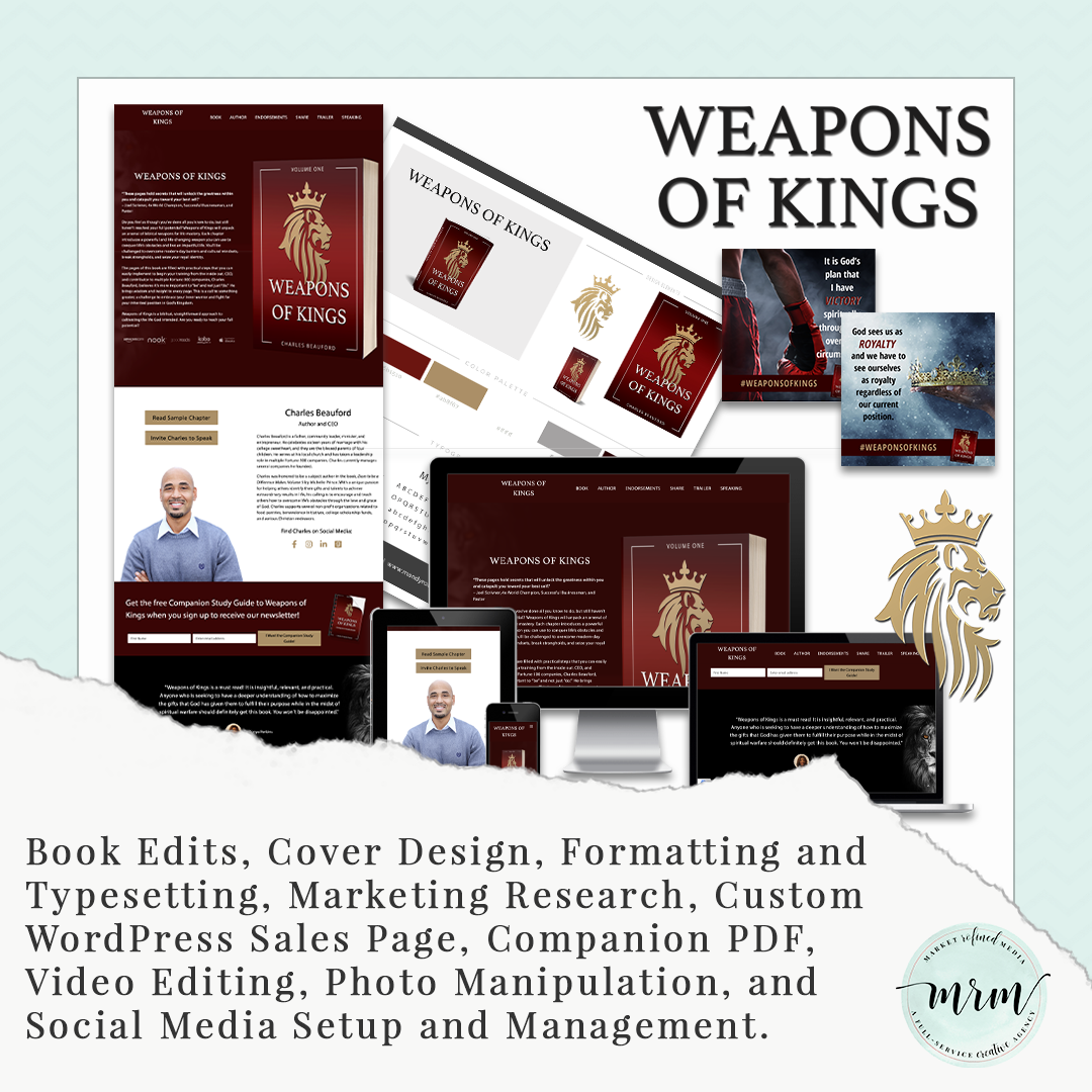 MRM Project Feature: Charles Beauford Book Publishing and Marketing