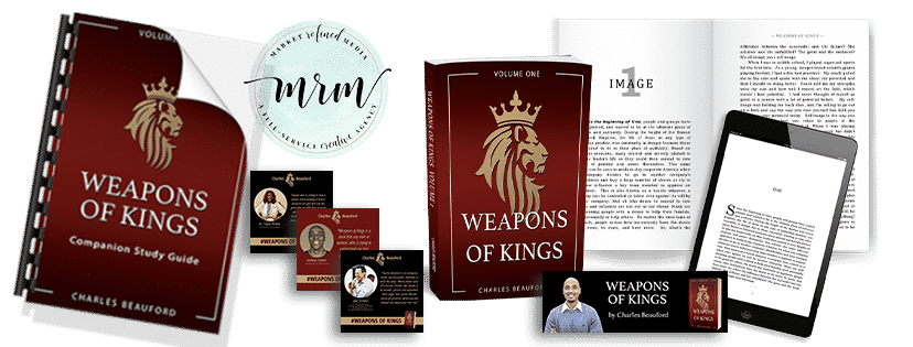 MRM Project Feature: Charles Beauford Weapons of Kings Publishing and Website Design