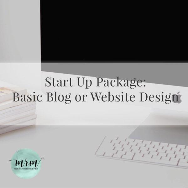MRM: Start Up Website Package