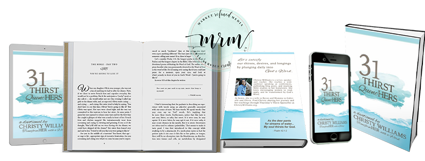 MRM Project Feature: Christy Williams Self-Publishing
