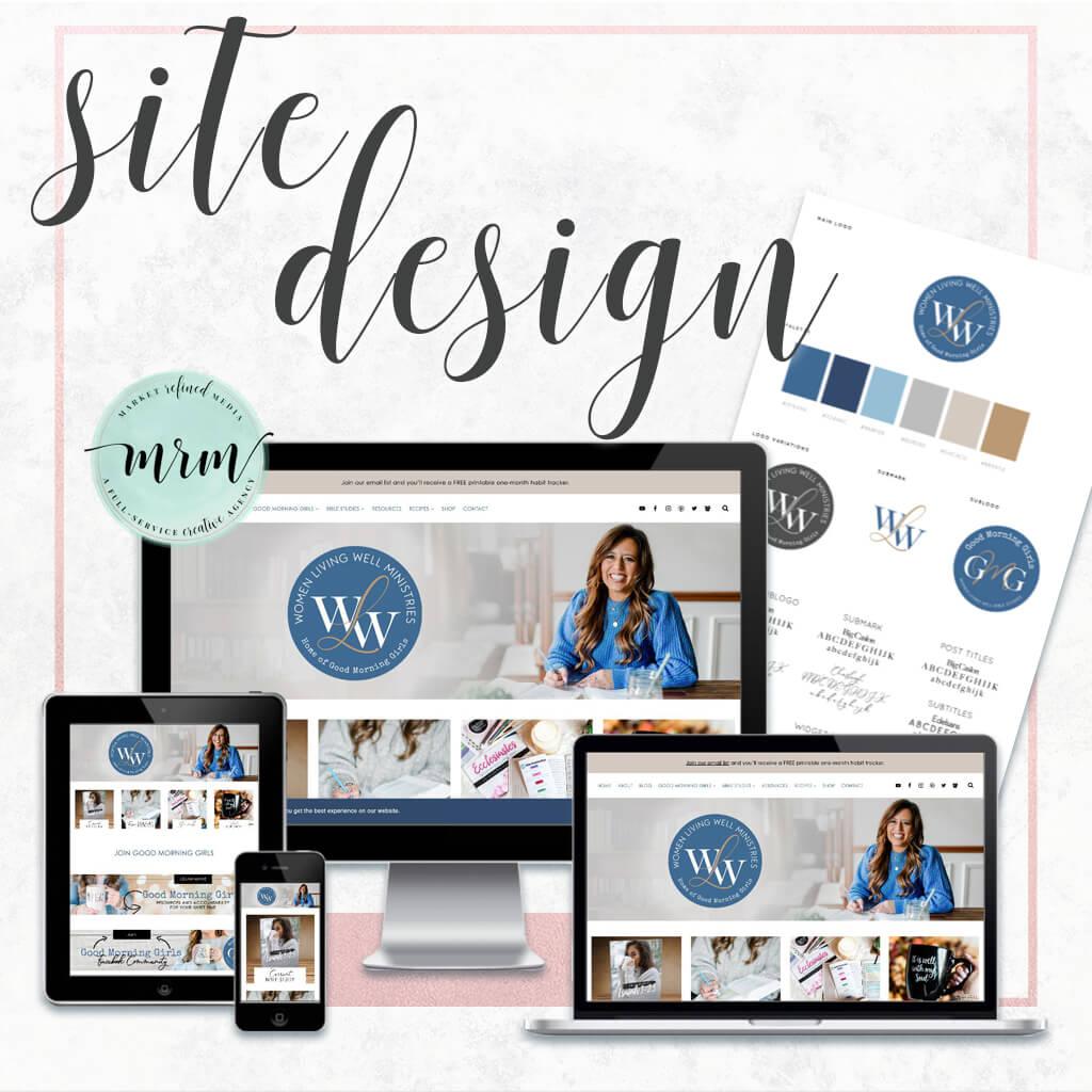 MRM Project Feature: Women Living Well Brand & Website Design