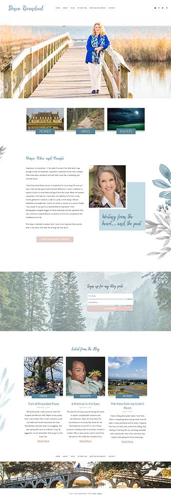 Denise Roosendaal Website Design