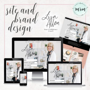 MRM Project Feature: Lisa Allen Brand and Website Design